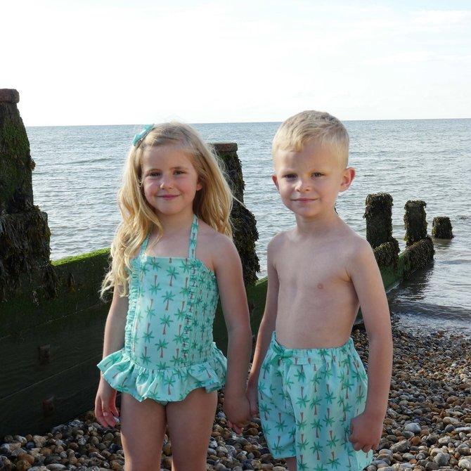 Rachel Riley Palm Tree Swimshorts
