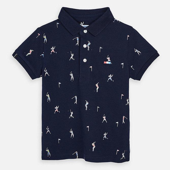 Mayoral Short Sleeve Polo Sports