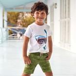 Mayoral Camo Bermuda Shorts