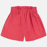 Mayoral Red Linen Shorts