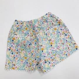 Peggy Green Girl's Two Pocket Shorts - Sur La Mer