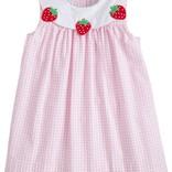 Little English Strawberry Bib Dress