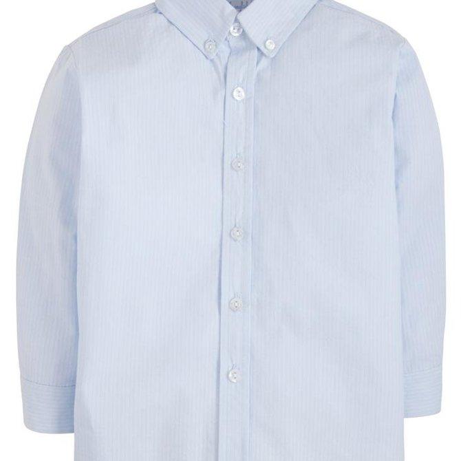 Little English Button Down Shirt Light Blue