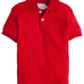 Little English Solid Polo- 3 Colors Available