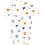 Roberta Roller Rabbit Big Hearts Infant Footie
