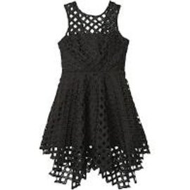 Milly Mini Lattice Annemarie Dress