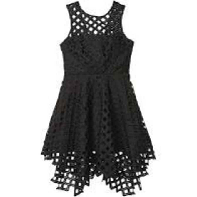 Milly Mini Lattice Annemarie Dress