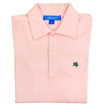 The Bailey Boys Bailey Boys Short Sleeve Polo Pink/White Stripe