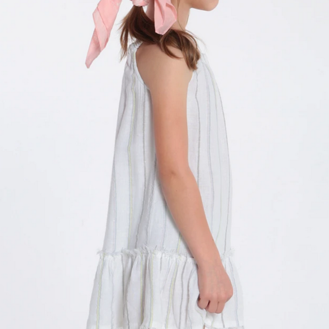 Bella Dahl Frayed Ruffle Sundress