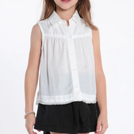 Bella Dahl Sleeveless Yoke Top