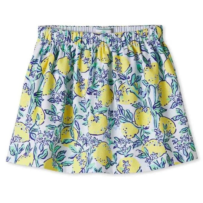 CPC Childrenswear Jill Lemonade Print Skirt