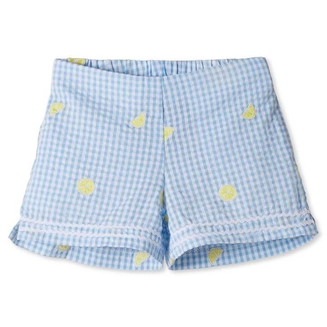 CPC Childrenswear Harper Lemon Embroidered Short
