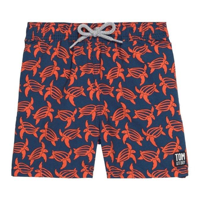 Tom and Teddy Boys Swim Trunks- 4 Colors Available
