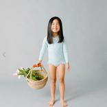 Minnow Swim Girls Garden Floral Rashguard One Piece