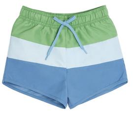 Minnow Swim Boys Peri Blue Tricolor Block Boardie