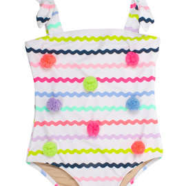 Shade Critters Multi Rick Rack One Piece Swim Suit