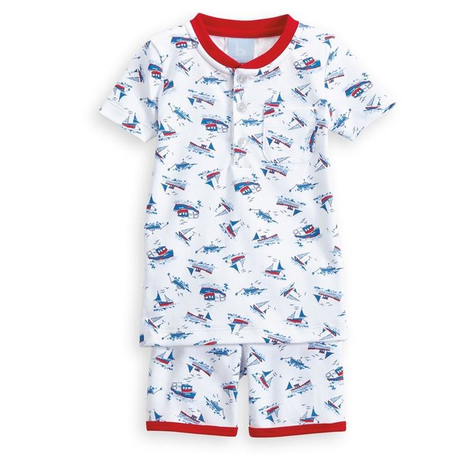 Bella Bliss Resort Short Pima Jammies- 2 Patterns Available