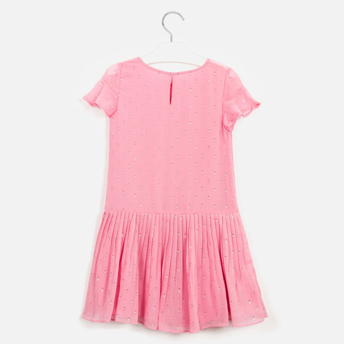 Mayoral Pink Plumeti Dress