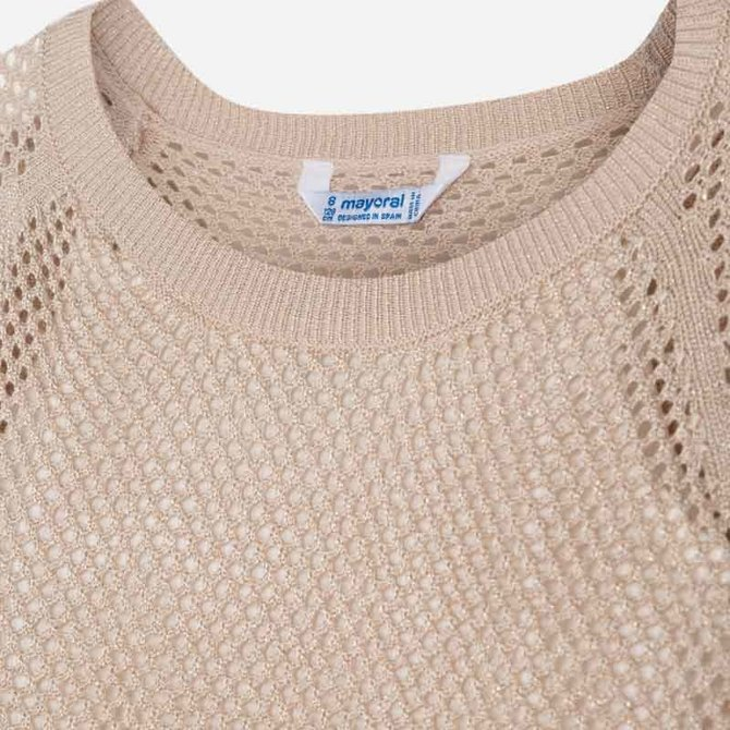 Mayoral Metallic Sweater