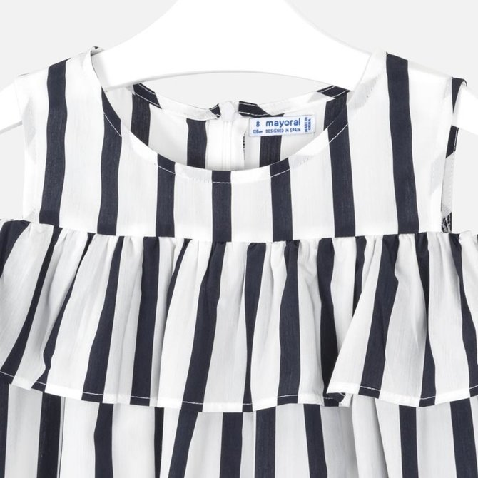 Mayoral Stripe Dress