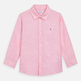 Mayoral Basic Pink Linen Shirt