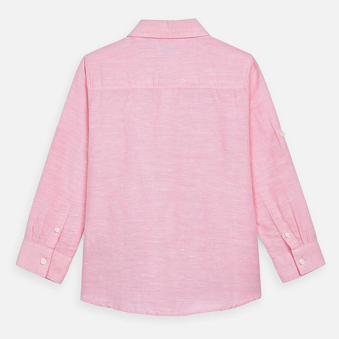 Mayoral Basic Pink Linen Shirt