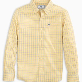 Southern Tide Intercoastal Sunshine Mini Check Sportshirt