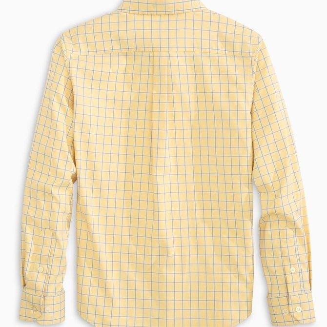 Southern Tide Intercoastal Sunshine Mini Check Sportshirt