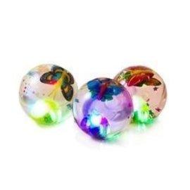 Light Up Butterfly Bouncy Ball