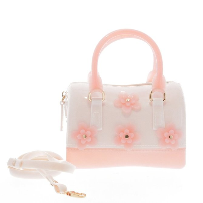 Doe a Dear Flowers Jelly Bag- 4 colors