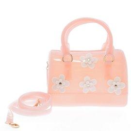 Doe a Dear Flowers Jelly Bag- 4 colors