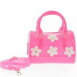 Doe a Dear Flowers Jelly Bag Bag