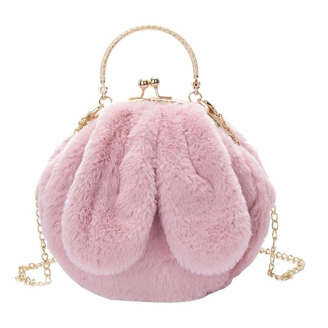 Ear Plush Purse