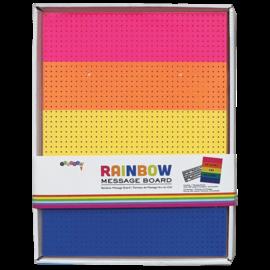 Rainbow Message Board