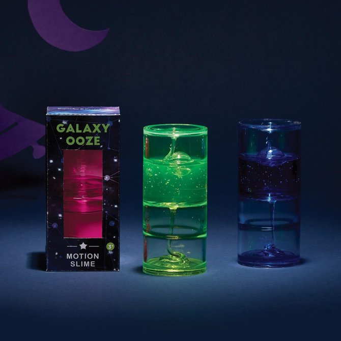 Galazy Ooze Motion Slime- 3 Colors