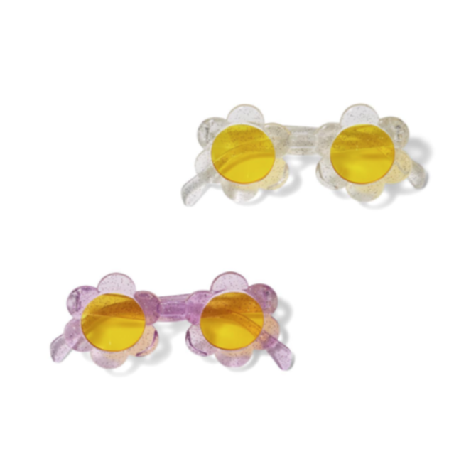 Glitter Daisy Sunglasses- 2 Colors