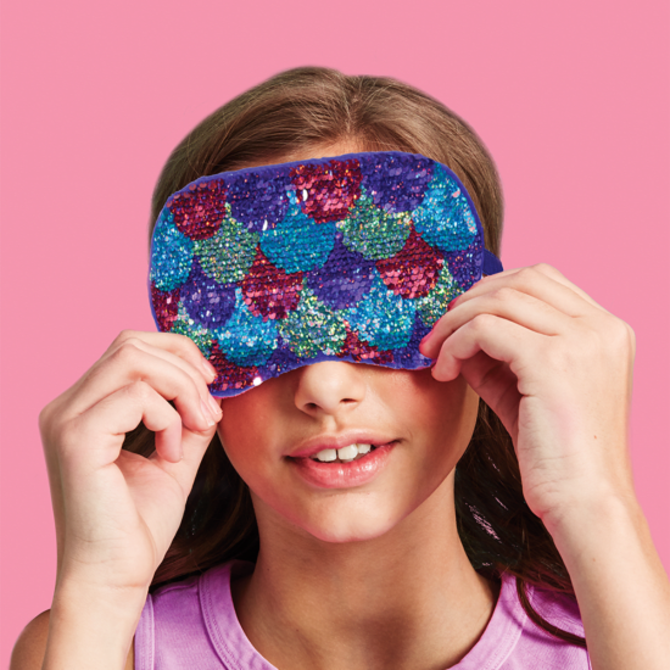 Mermaid Reversable Sequin Eye Mask