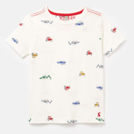 Joules Freddie Farm Cotton T-Shirt