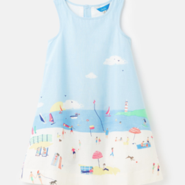 Joules Bunty Beach Border Dress