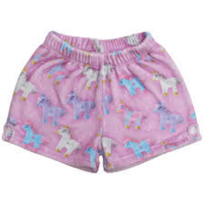 Iscream Fuzzy Shorts- 7 styles available