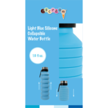 Silicone Water Bottle Blue