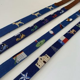 Smathers and Branson Children's Belt- Yellow Lab
