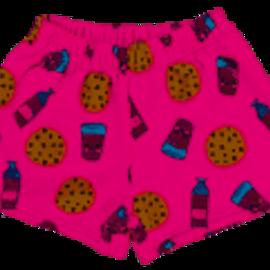 Iscream Milk and Cookies Treats Plush Shorts