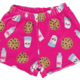 Iscream Milk and Cookies Treats Plush Shorts
