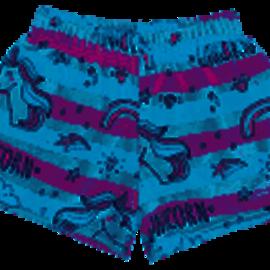 Iscream Unicorn Plush Shorts w/ Back Pocket