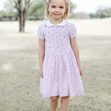 Rachel Riley Rachel Riley Rose Smocked Dress Multi