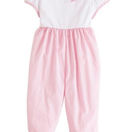Little English Park Avenue Romper Light Pink