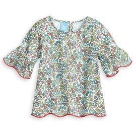 Bella Bliss Scarlett Blouse Pocket Full of Posies