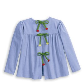 Bella Bliss Applique Toulouse Blouse