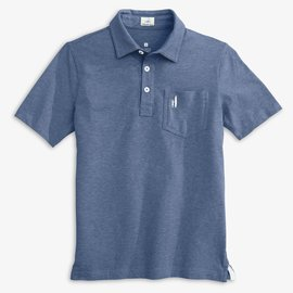 Johnnie-O Heathered Original Polo Oceanside
